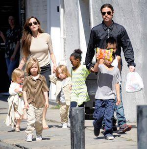 Angelina Jolie&Brad Pitt