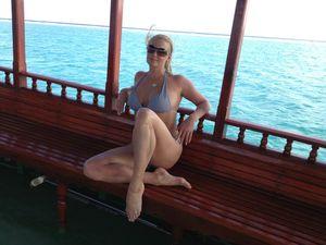 Anastasia Volochkova Maldives
